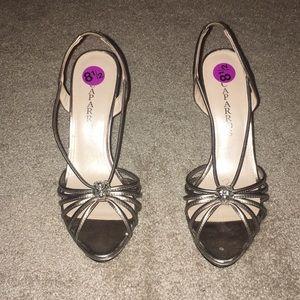 Silver/Gold heels